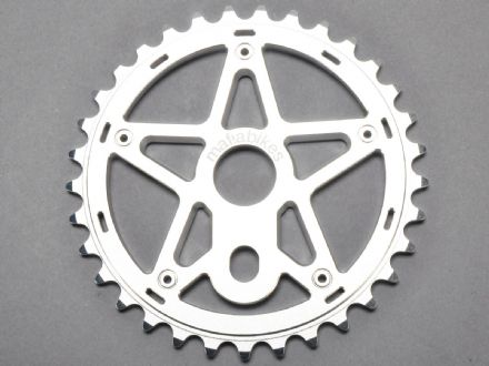 Mafia Gully Sprocket Silver 24T